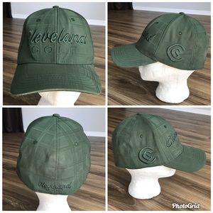 Cleveland Golf Fitted Hat sz S/M